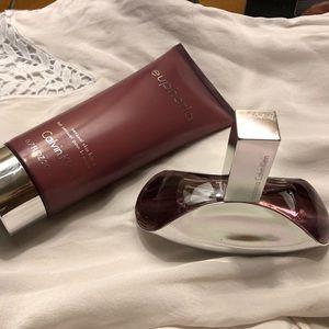 Calvin Klein Euphoria fragrance set
